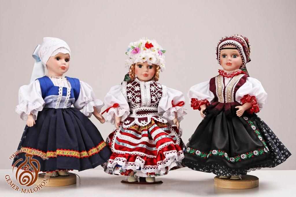 Textilné výrobky s tradičnou výšivkou - Gabriela Medveďová